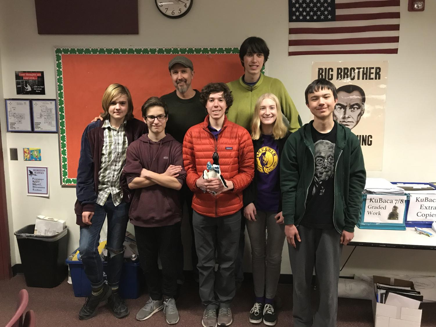 BHS Knowledge Bowl team at last year's regional tournament.