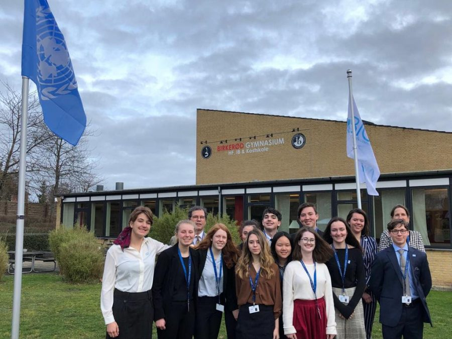 BHS Model UN Travels to Copenhagen, Denmark