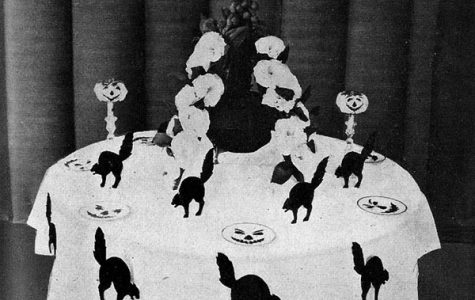 Halloween is a spooky holiday with a storied past. By Ruth Edna Kelley - The Book of Hallowe'en entry at The Project Gutenberg., Public Domain.