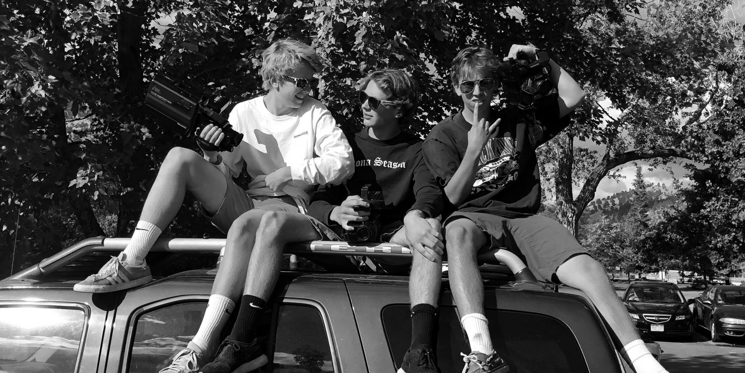 The iconic PTV Boys McClory, Williams, and Coan pictured left to right. Via Mr. Wright.