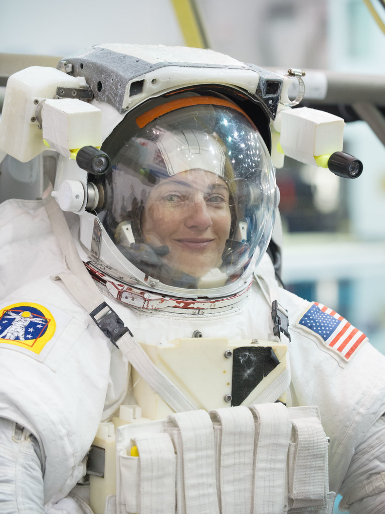 Astronaut Jessica Meir (via flickr)