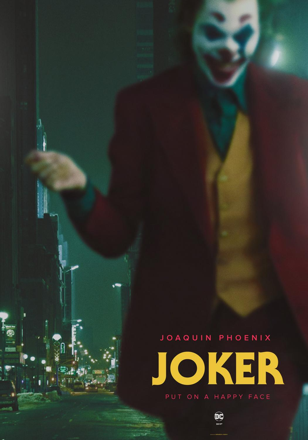 A fanart take on Joaquin Phoenix's Joker. Praised by many fans with high ratings. Via creative commons.