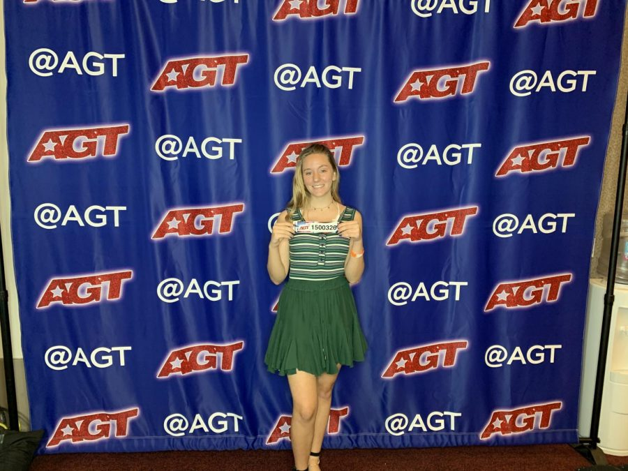 Sophomore Allison Lydic poses before her America's Got Talent audition.