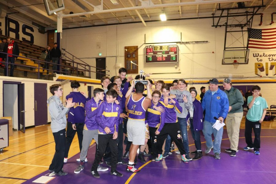 Wrestling Team Wrecks Fairview