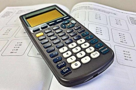 Black Texas Instruments graphing calculator, Mathematics, Education, HD wallpaper, courtesy of Wallpaperflare.com.
