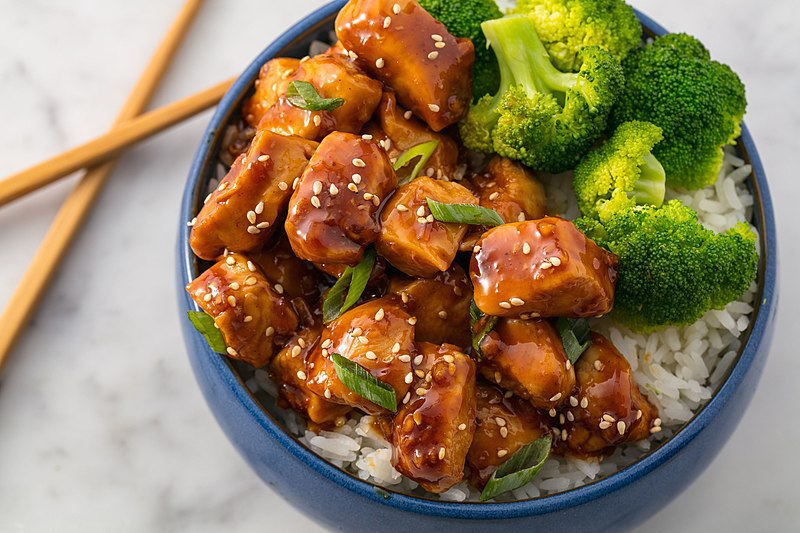 Many have been quick to compare 2020 with their least favorite foods – lima beans, peanut butter and mayonnaise sandwiches...and teriyaki chicken. Via Wikimedia Commons