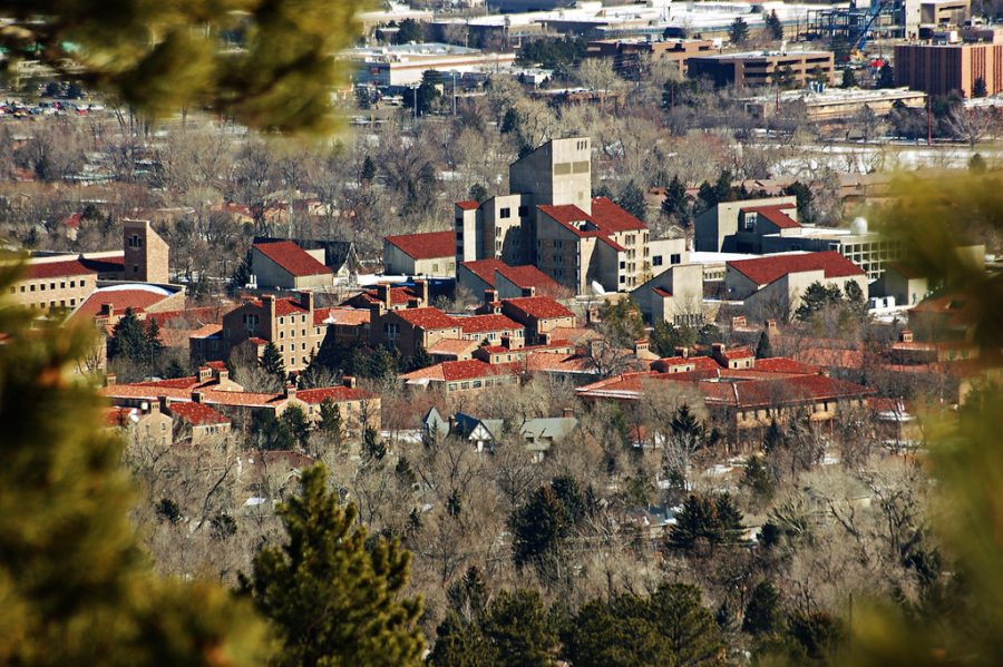 "Though the Stay-At-Home Order is for all 18-22 year-olds in Boulder County, the order pertains mostly to CU students currently on campus. Via Unsplash ""University of Colorado - Boulder"" by jiannone is licensed under CC BY 2.0"