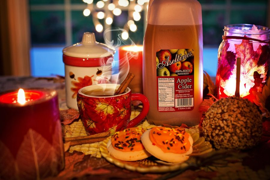 Cookies and cider make good additions to a festive event.