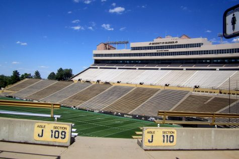 Despite the beginning of a new school year and students back on campus, Folsom Field will remain quiet with out the cheering of fans this year.