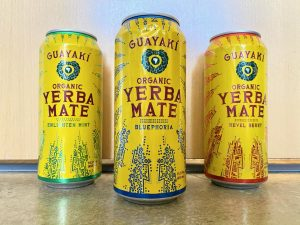 Guayakí's Yerba Mate drink became popular with their signature flavors and iconic designed cans .