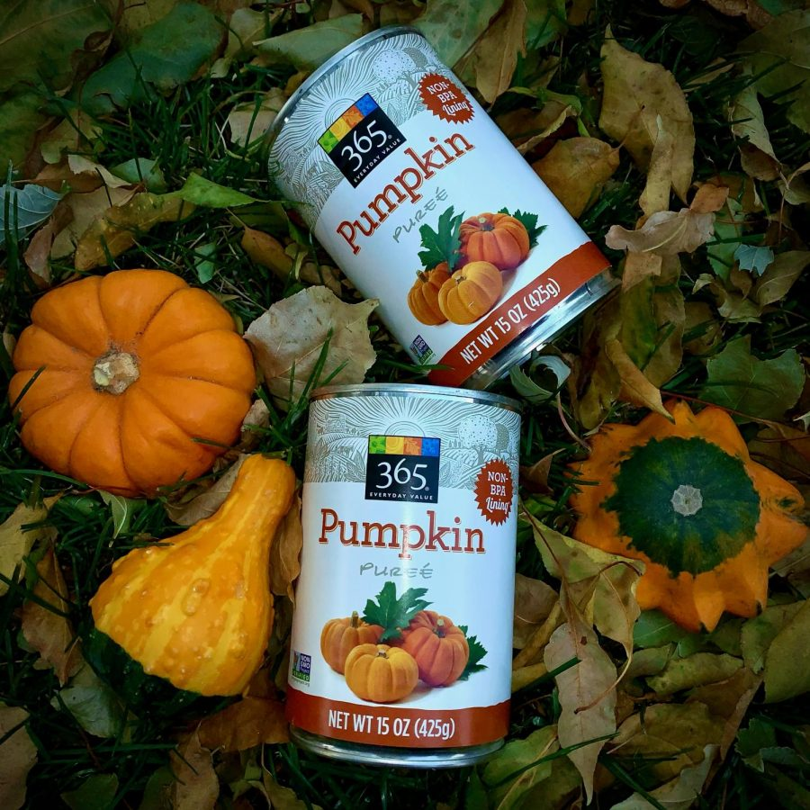 Although+Pumpkin+Pie+is+a+classic+fall+themed+dessert%2C+this+year%2C+I+wanted+to+see+what+other+recipes+I+could+make+with+Pumpkin+Pur%C3%A9e.+