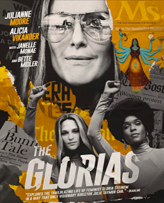 The Glorias focuses not only on Gloria Steinem but also on feminism, the civil rights movement and the fight for womens rights.