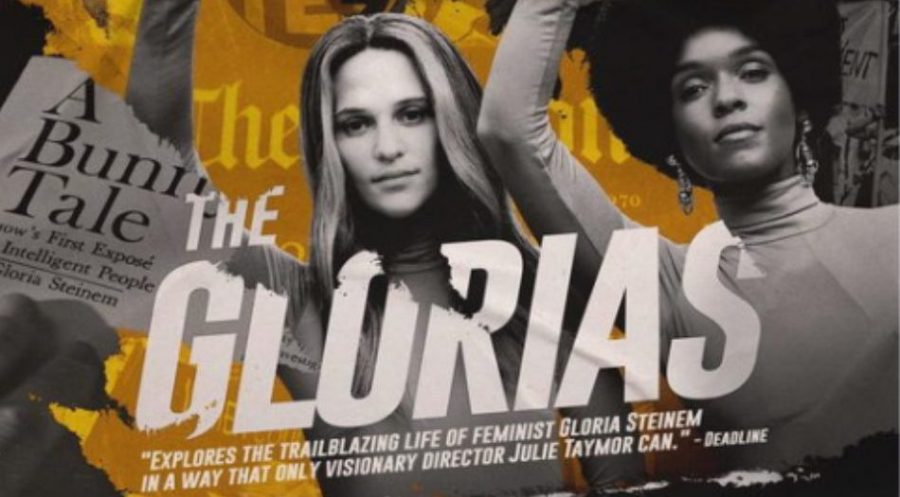 """The Glorias"" focuses not only on Gloria Steinem but also on feminism, the civil rights movement and the fight for women's rights."
