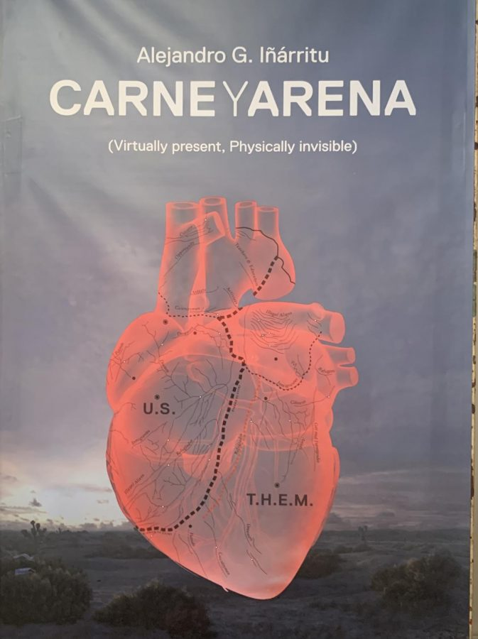 CARNE y ARENA (Virtually present, Physically invisible) is an immersive virtual reality everyone should experience.