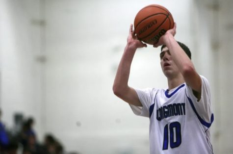 Justinian Jessup rises up for a jump shot as a high schooler at Longmont High.