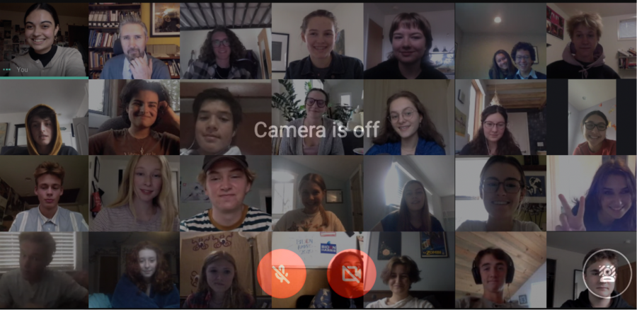 In a time of Google Meet classes, it's rare that every member of a class will have their cameras on; many opt to instead use the camera off feature and hide behind an icon.