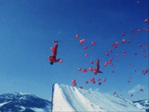 Ski aerials are still an Olympic fixture today, but their fellow