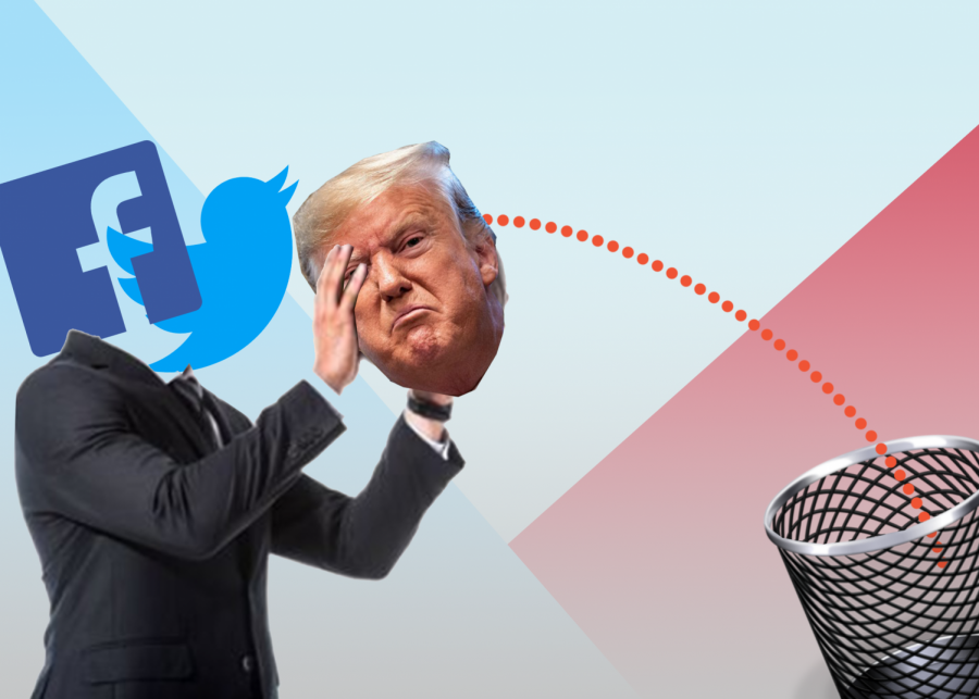 Big platforms such as Facebook, Instagram and Twitter have suspended Trump from their sites. Should they be celebrated, or is there something bigger at play?