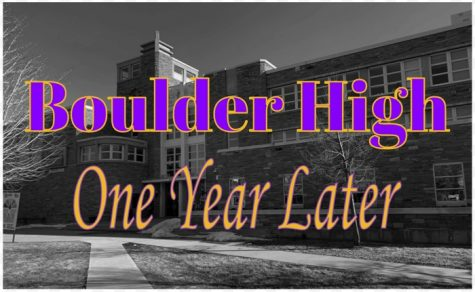 Boulder High has returned to in-person learning but many things have changed since we shut down a year ago today, March 12, 2020.